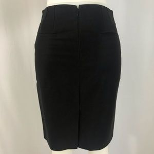 J. Crew Black No. 2 Pencil Midi Skirt NWOT